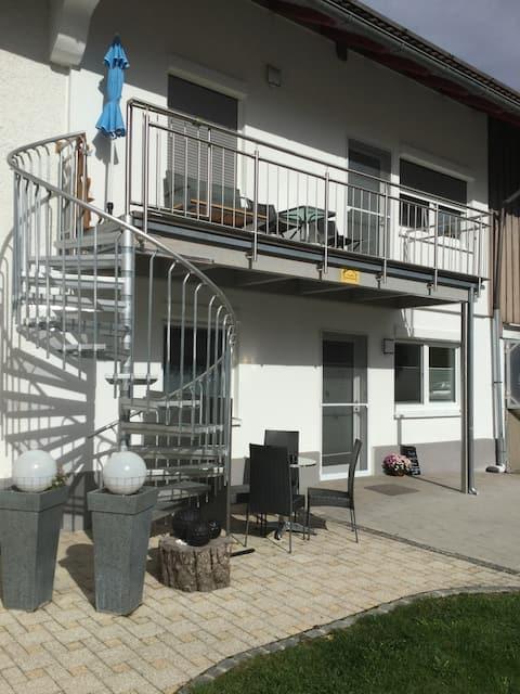 5 stjärnor Bioferienhof Weber Lägenhet 1