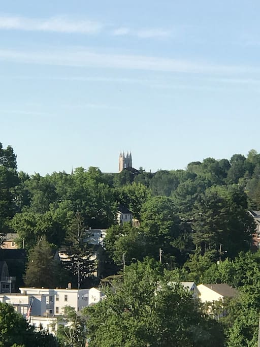 Incredible views of Gasson Tower day AND night