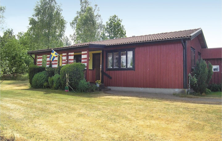 Stunning home in Unnaryd with 2 Bedrooms