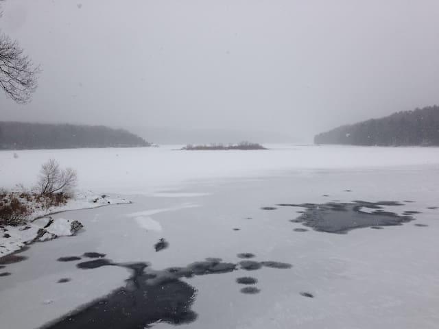Saugatuck Reservoir...