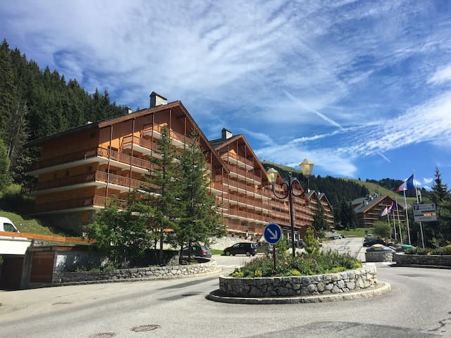Sunny flat close to pistes for 4 people