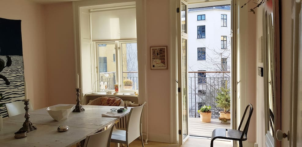 Charming 3 room - in the heart of Copenhagen