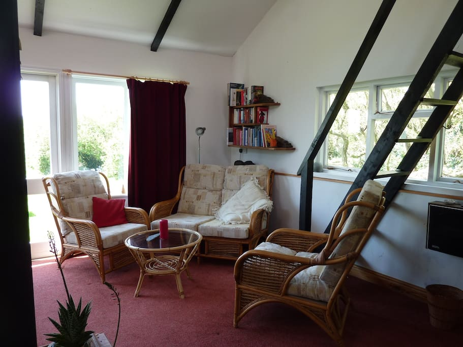 Living room to share with others