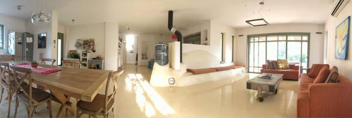Trieger's Villa in Kibbutz Shamir