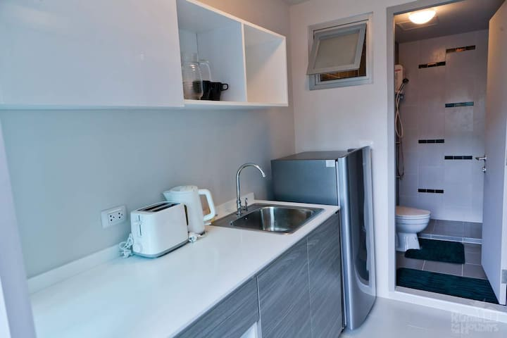 Phuket Studio Flat - 30sm 1-bed apartment for rent - Kathu - Apartemen