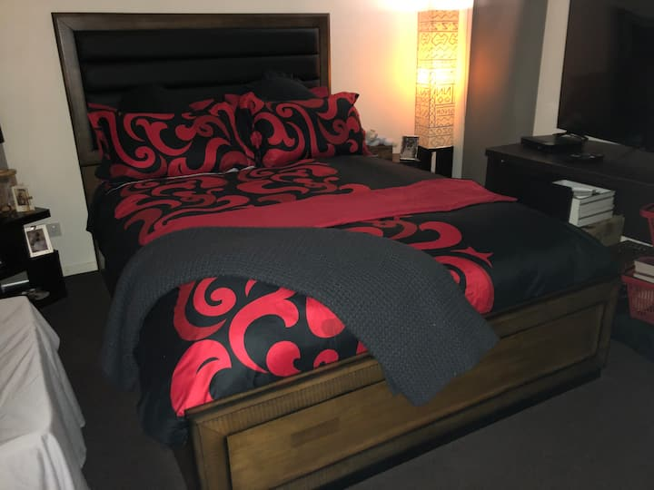 Private Bedroom with Full Amenities