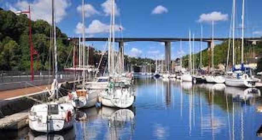 Grand T3 NEUF Saint-Brieuc, Plérin, port du légué - Plérin - Apartemen