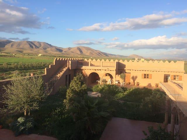 Vue à 360 degrés(lever et coucher  du soleil)