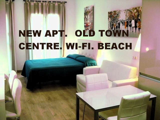APT. OLDTOWN 3 min to BEACH. Historic Center Alic