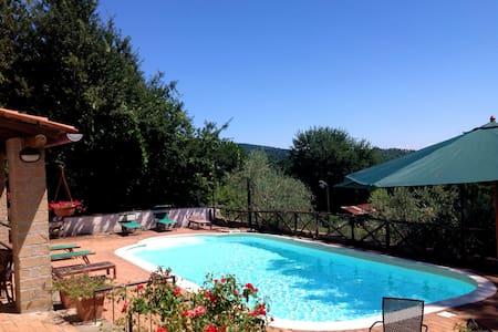 Villa di campagna con piscina - Manziana - Villa
