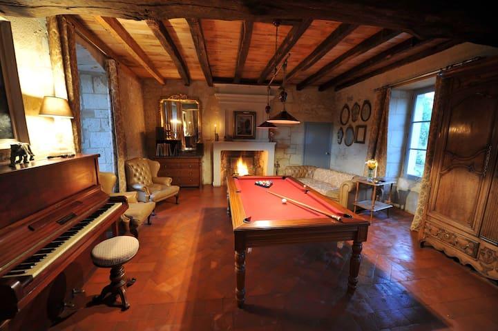 Grand + petit gite du presbytere - Saint-Martin-de-Sanzay - Casa