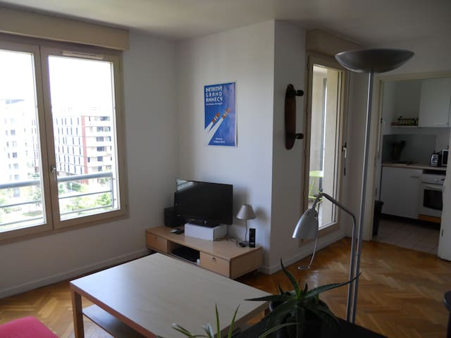 studio balcony+parking close to PartDieu/Garibaldi - Lyon-3E-Arrondissement - Apartment