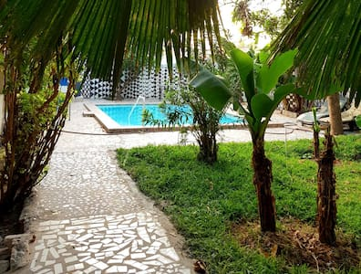 Villa Katarina Bar and restaurant compound gardens