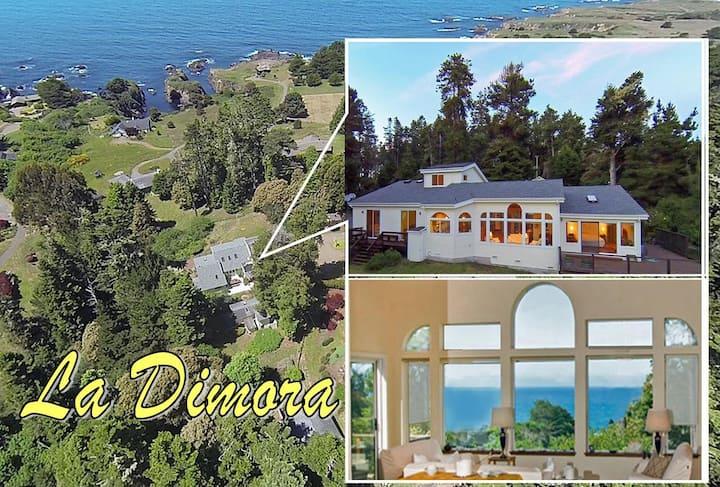 La Dimora, a stunning, private setting above the ocean