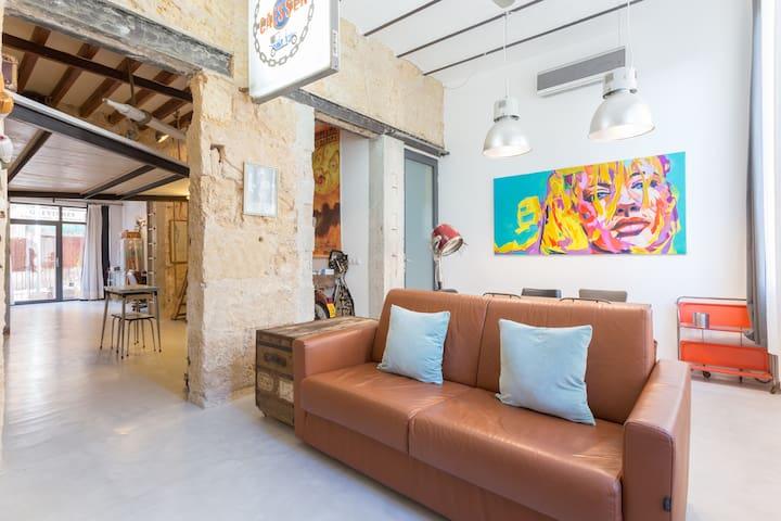 Your True loft near Paseo Maritimo