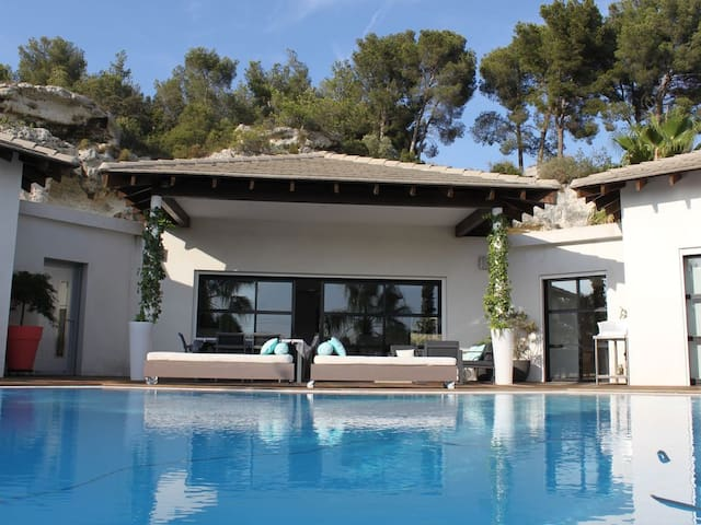 maison californienne au cœur de la Provence