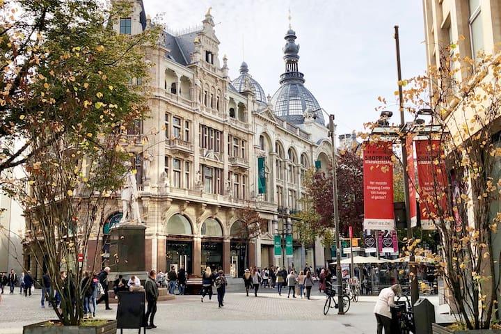 Antwerpen Wohnung  65 m2 historisches Zentrum Meir