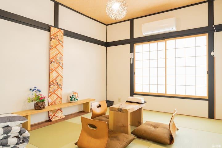 梅田2站路!日式別墅整棟出租,一天只住一組客人。兼中文翻譯,定制私人旅行