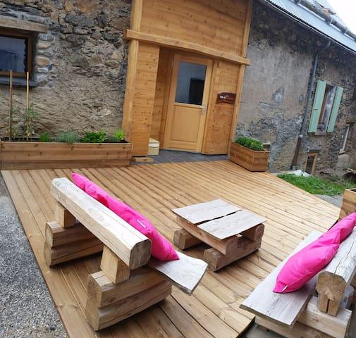 Gîte de la Lignarre - Chambre 6 couchages avec SdB