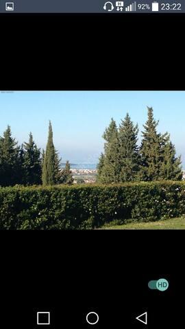 Kapali havuz,manzara,marine villa da ev paylasimli - Yenice Mahallesi - Casa
