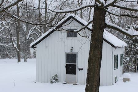 Rustic and cozy guesthouse minutes from I-94 - Kalamazoo