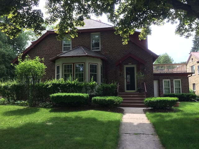Classic Sheboygan Home near Lake Michigan