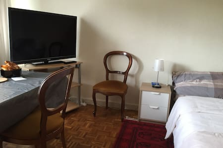 Studio flat for 2 persons in Geneva - Chêne-Bourg