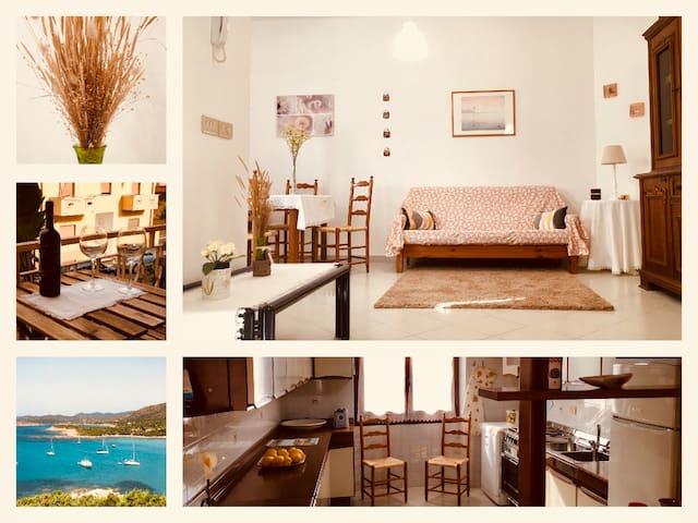 Sardinia sunny holidays, Wi-Fi, near Cagliari airp