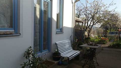 Ruhige Altstadtwohnung  mit Garten u.KfzStellplatz
