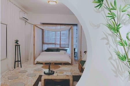 【Dream house】新中式庭院风/极米巨幕投影/南湖/华商/客运站