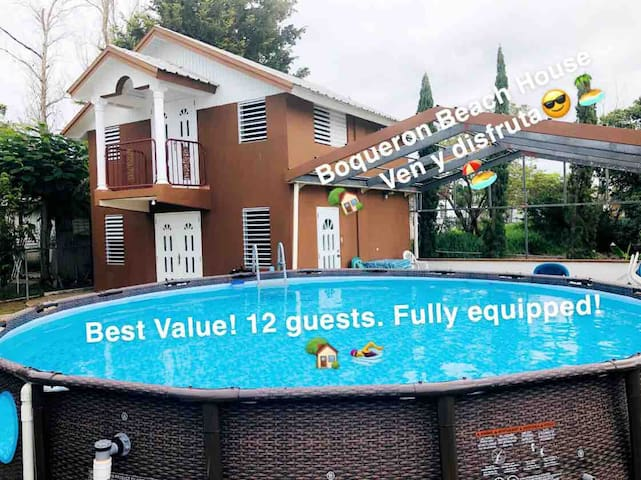 Boqueron Beach Family House with Private Pool!