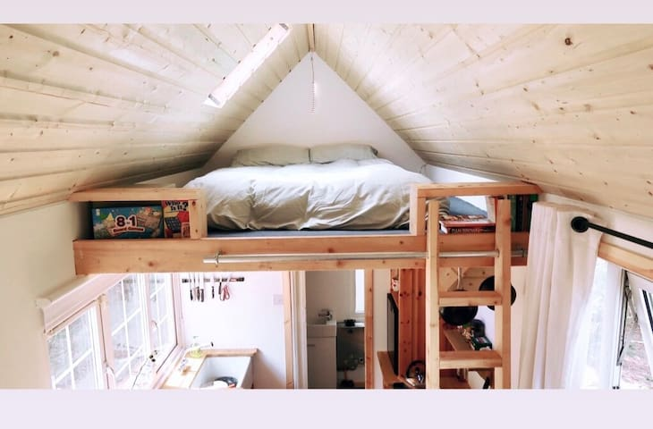 Off Grid TINY HOUSE Cabin in the Wicklow Mountains