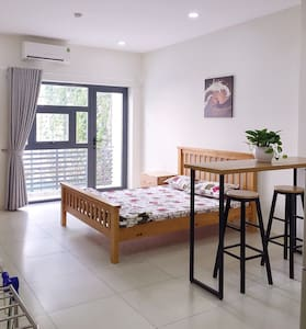 Spacious studio 372/5N Dien Bien Phu, Ward 17, BT