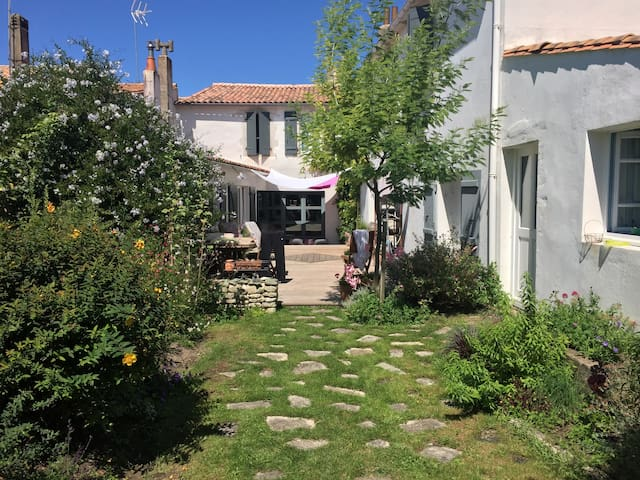 Maison du jardin - Saint-Martin-de-Ré - Huis