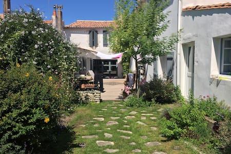 Maison du jardin - Saint-Martin-de-Ré - 独立屋