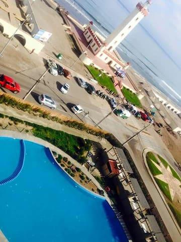departamento vista al mar - La Serena - Appartement