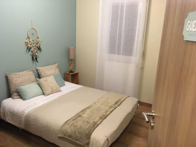 Chambre cosy proche de Genève - Ville-la-Grand - Flat