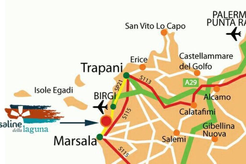 CARTINA SICILIA OCCIDENTALE