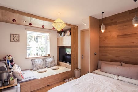 Top Location 2Min Walk to Metro 2&7 - Shanghai - Apartemen