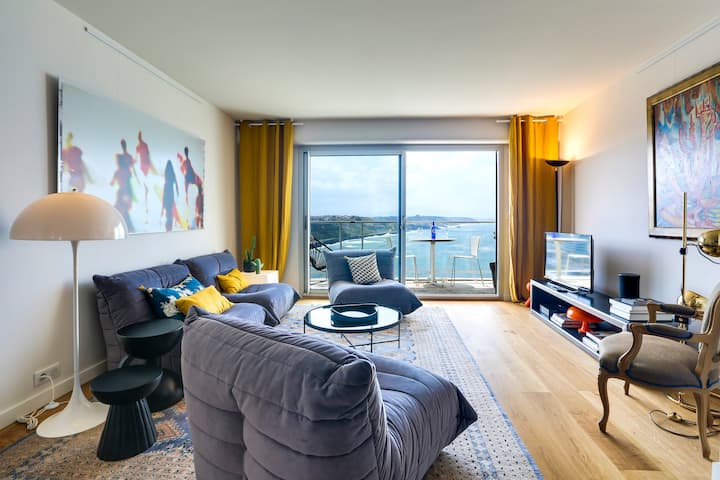 OCEAN 360 : sea view apartment with parking