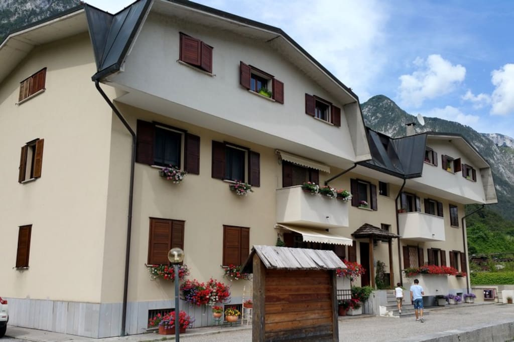 Veduta da ciclovia Alpe Adria