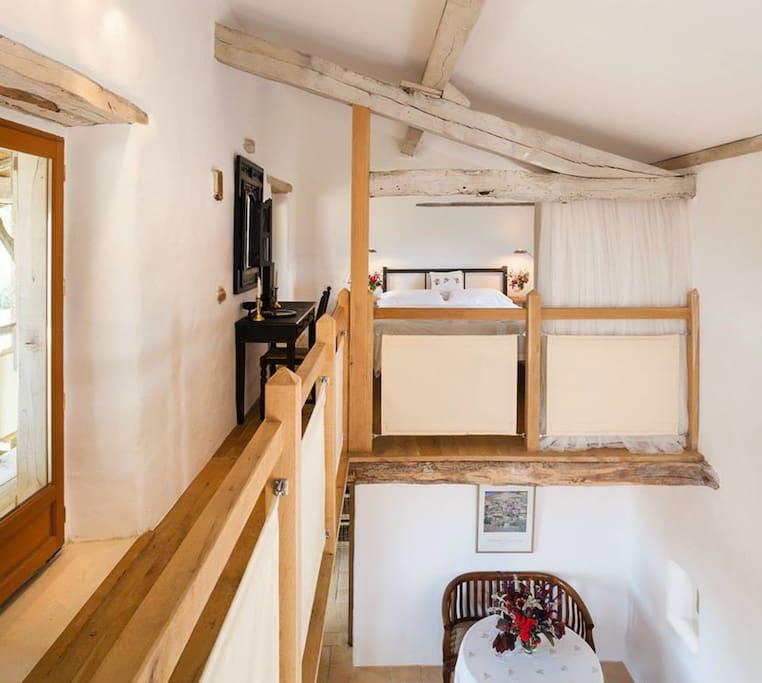 Open double bedroom