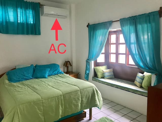 AC is Only in the bedroom