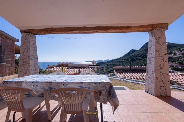 Casa Idra, sea' view, Costa rei