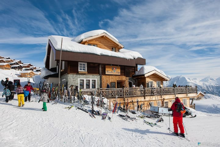 Chalet Mario Belalp. Great views. Ski-IN,Ski-OUT - Belalp - Dom