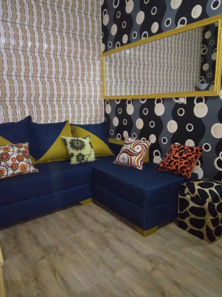 Studio Meublé Cité Sic  Face Essec Douala