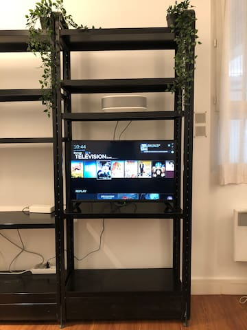 Télévision + Netflix