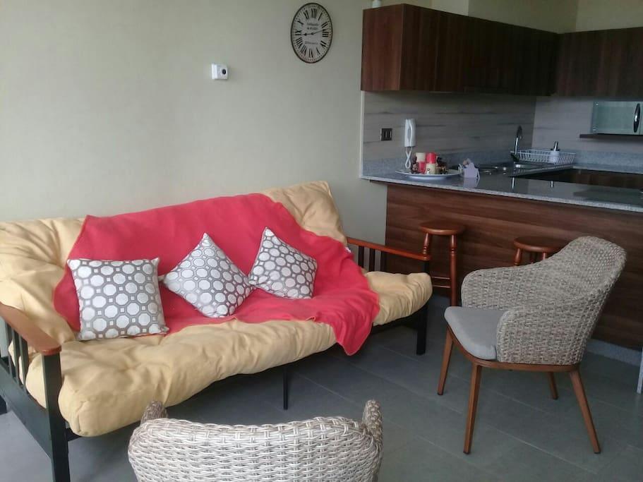 nuevo sofa cama de dos plazas