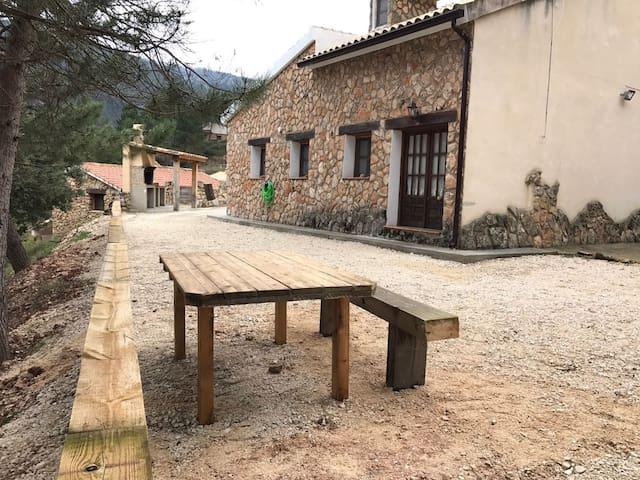 Casa grande en Nacimiento Rio Mundo - Riópar - Dom