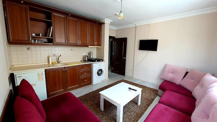 144 Konyaaltı Beach 300 Meter Luxury 1+1 Apartment